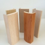 Fasciations for retreaded veneer doors or PVC film