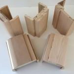 Various casings for doors